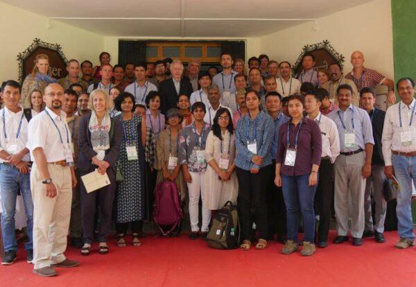 Group photo at Integrated Tiger Habit Conservation Programme workshop, 28-31 October 2017