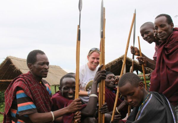 RCP meeting with Barabaig warriors