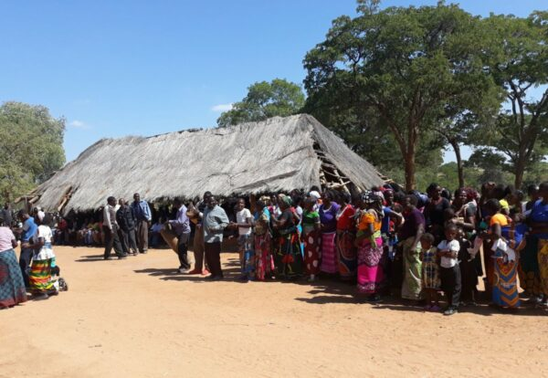 Nyawa Chiefdom Chiefs' Consultation Tour