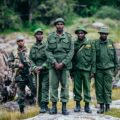 A patrol team in Mount Kenya National Park