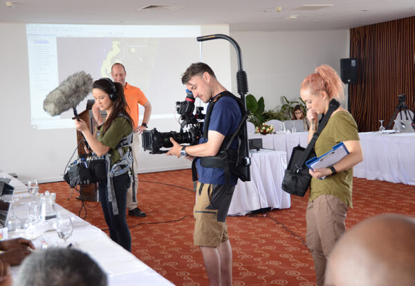 Even BBC came to film the Lemurs Red Listing workshop