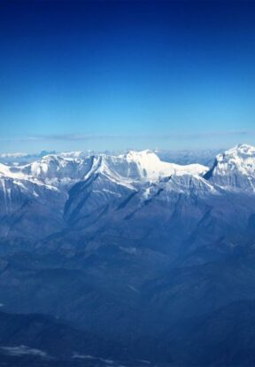 Himalayas from the air