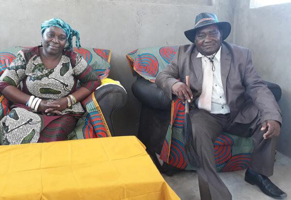 HRH Chieftainess Sekute and HRH Chief Nyawa