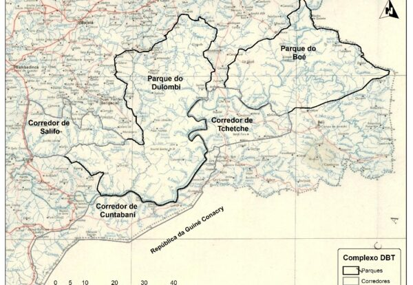 Location of the new National Parks